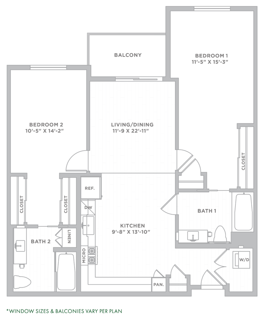 two bedroom los angeles apartments